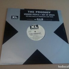 Discos de vinilo: THE PRODIGY - VOODOO PEOPLE • OUT OF SPACE (MAXI 12'' 2005, XL RECORDINGS XLT 219) NUEVO. Lote 207182837