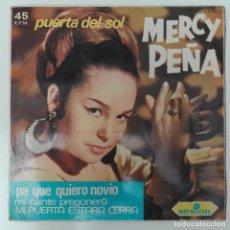 Discos de vinilo: MERCY PEÑA - PUERTA DEL SOL +3 1996 EP SESION CANTE TIENTOS BULERÍAS. Lote 69680141