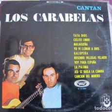 Discos de vinilo: LP - LOS CARABELAS - CANTAN LOS CARABELAS (SPAIN, MOVIEPLAY 1968). Lote 69697541