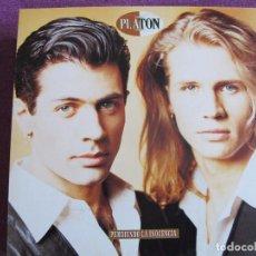 Discos de vinilo: LP - PLATON - PERDIENDO LA INOCENCIA (SPAIN, CBS/SONY 1992). Lote 69701161