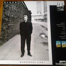 Discos de vinilo: BLACK WONDERFUL LIFE LP AM RECORDS ED. ESPAÑOLA 395165-1 MUY BUENAS CONDICIONES.. Lote 69706245