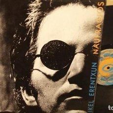 Discos de vinilo: MIKEL ERENTXUN--NAUFRAGOS. Lote 69711241