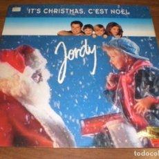 Discos de vinilo: JORDY - IT'S CHRISTMAS, C'EST NOEL. Lote 69719737