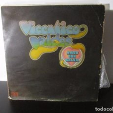 Discos de vinilo: AMOR CON SALSA VICENTICO VALDES LP T76 B 1974 G RARO Y ESCASO. Lote 69720557