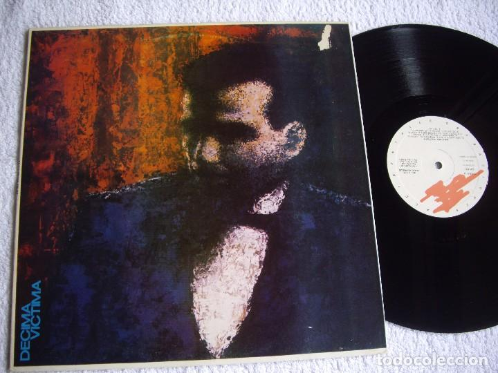 DECIMA VICTIMA MX 12'' UN LUGAR EN EL PASADO RAREZA MOVIDA 1983 DARK WAVE EX (Música - Discos - LP Vinilo - Grupos Españoles de los 70 y 80)
