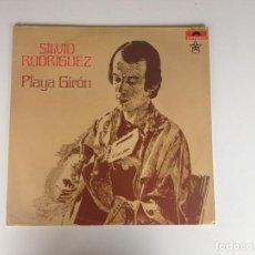 Discos de vinilo: PLAYA GIRÓN - SILVIO RODRÍGUEZ (MÉXICO. 1978). Lote 69751869