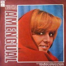 Discos de vinilo: NUCHA AMENGUAL - QUE PUEDO DECIRTE AMOR QUE TU NO SEPAS . LP . 1974 EMI - J062-81.777. Lote 36275344