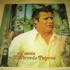 Discos de vinilo: EL PERRO DE PATERNA - 1972. Lote 69765521