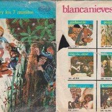 Discos de vinilo: LOTE CUATRO DISCOS 45 RPM. CUENTOS INFANTILES.. Lote 69772689