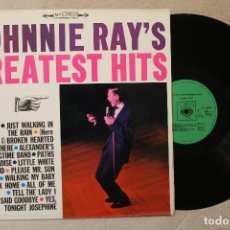 Discos de vinilo: JOHNNIE RAY'S GREATEST HITS LP VINYL S 52317 MADE IN HOLLAND 1969 STEREO. Lote 69778533