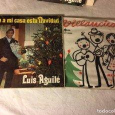 Discos de vinilo: ANTIGUO LOTE COLECCION DE DISCOS SINGLES DE NAVIDAD VILLANCICOS, ENTRAN TODOS. Lote 69783929