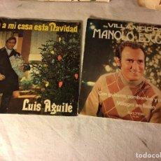 Discos de vinilo: ANTIGUO LOTE COLECCION DE DISCOS SINGLES DE NAVIDAD VILLANCICOS, ENTRAN TODOS. Lote 69784029