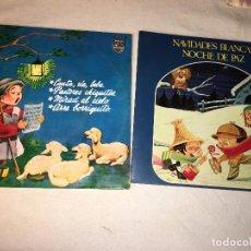Discos de vinilo: ANTIGUO LOTE COLECCION DE DISCOS SINGLES DE NAVIDAD VILLANCICOS, ENTRAN TODOS. Lote 69784637