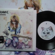 Discos de vinilo: LADYHAWKE - '' PARIS IS BURNING '' VINYL SINGLE 7'' + POSTER UK 2008 LIMITED EDITION. Lote 69786433