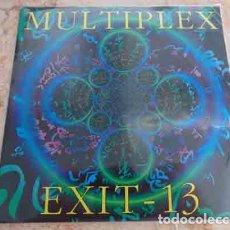 Dischi in vinile: MULTIPLEX / EXIT-13 – MULTIPLEX / EXIT-13 - SINGLE COMPARTIDO - GRINDCORE. Lote 69791473