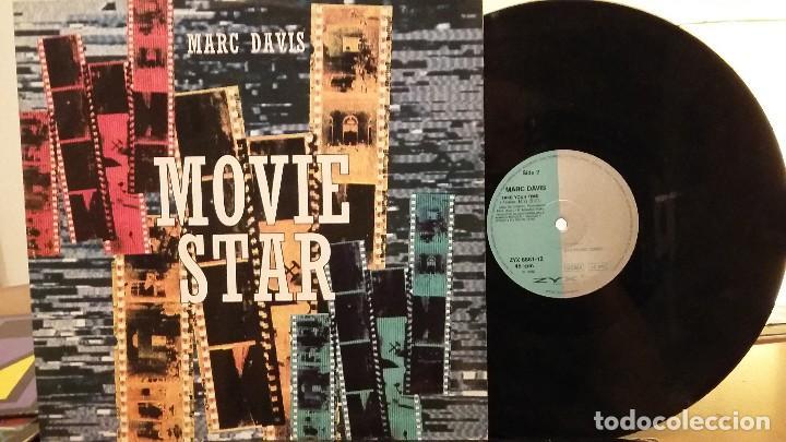 MARC DAVIS-- MOVIE STAR MAXI-SINGLE (Música - Discos de Vinilo - Maxi Singles - Funk, Soul y Black Music)