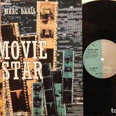 Discos de vinilo: MARC DAVIS-- MOVIE STAR MAXI-SINGLE. Lote 69793041