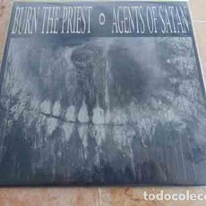 Discos de vinilo: AGENTS OF SATAN / BURN THE PRIEST – AGENTS OF SATAN / BURN THE PRIEST - EP 1998 - GRINDCORE. Lote 69796097