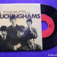 Discos de vinilo: THEBUCKINGHAMS BACK IN LOVE/I´LL BE BACK +2 EP PORTUGAL 1968 PDELUXE. Lote 69801029