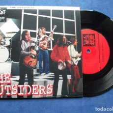 Discos de vinilo: THE OUTSIDERS TALK TO ME + 3 EP HOLANDA PDELUXE. Lote 69801049