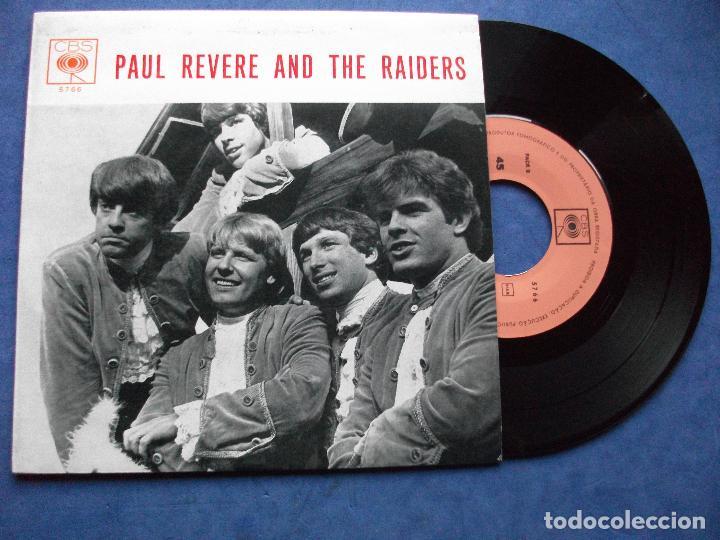 PAUL REVERE & THE RAIDERS !!!!!!ULTIMA OPORTUNIDAD!!!!!!!!!!!! KICKS + 3 EP PORTUGAL PDELUXE (Música - Discos de Vinilo - EPs - Pop - Rock Internacional de los 70)