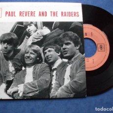 Discos de vinilo: PAUL REVERE & THE RAIDERS KICKS + 3 EP PORTUGAL PDELUXE. Lote 69801101
