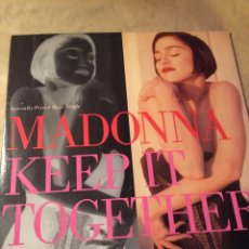 Discos de vinilo: MAXI VINILO MADONNA KEEP IT TOGETHER. Lote 69801361