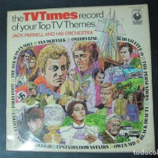 Discos de vinilo: THE TV TIMES SECOND OF YOUR TOP TV THEMES. JACK PARNELL AND HIS ORCHESTRA. ARRIBA Y ABAJO, HAWAI 5-0. Lote 69808573