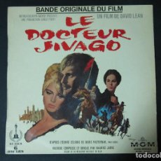 Discos de vinilo: LP. VINILO. BSO. B.S.O. SOUNDTRACK. DOCTOR ZHIVAGO. LE DOCTEUR JIVAGO. EDICION FRANCESA. MGM. Lote 69808861