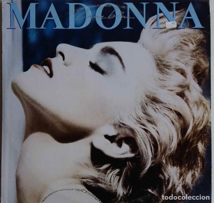 MADONNA. TRUE BLUE. LP FILIPINAS (Música - Discos - LP Vinilo - Pop - Rock - New Wave Extranjero de los 80)