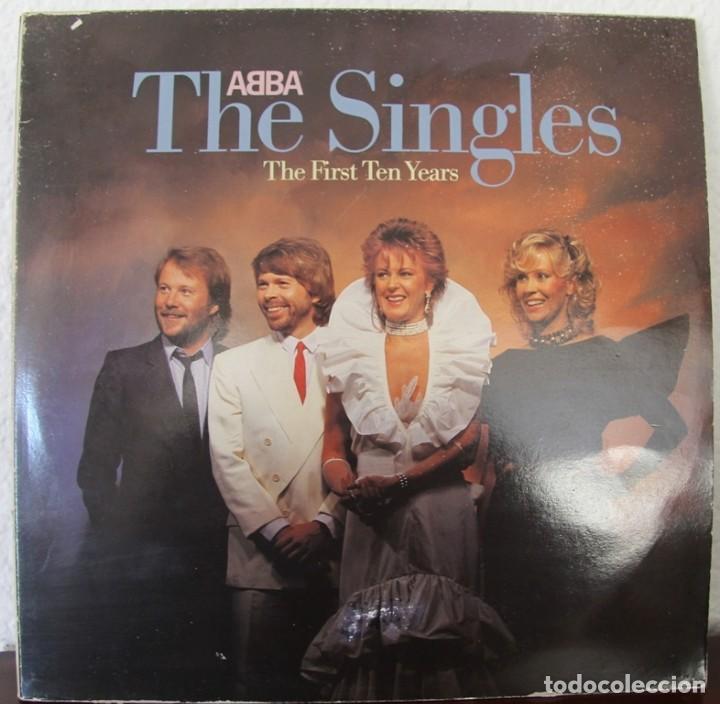ABBA (THE SINGLES) THE FIRST TEN YEARS 1982 LP33 DOBLE (Música - Discos de Vinilo - Maxi Singles - Grupos Españoles de los 70 y 80)