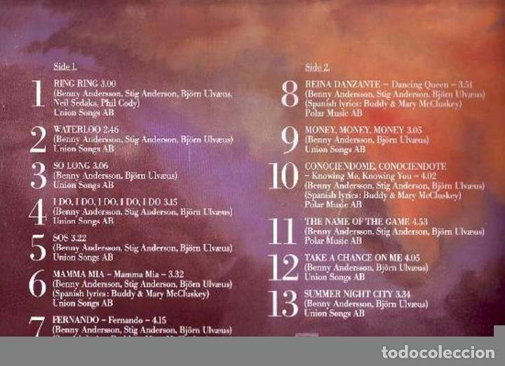 Discos de vinilo: ABBA (THE SINGLES) THE FIRST TEN YEARS 1982 LP33 DOBLE - Foto 2 - 69818965