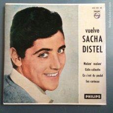 Discos de vinilo: EP SACHA DISTEL VUELVE MADAM MADAM. Lote 69823154