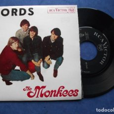 Discos de vinilo: THE MONKEES WORDS + 3 EP PORTUGAL PDELUXE. Lote 69827113