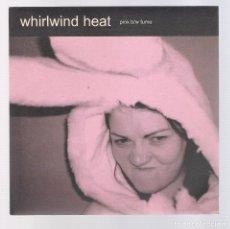 Discos de vinilo: WHIRLWIND HEAD - PINK B + FUME (SINGLE 7'' 2004, XL RECORDINGS XLS 177) NUEVO. Lote 69833929
