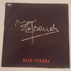 Discos de vinilo: ROSENDO..BAJO CUERDA / VOLUNTAD PASIVA.(TWINS 1989). Lote 69848497