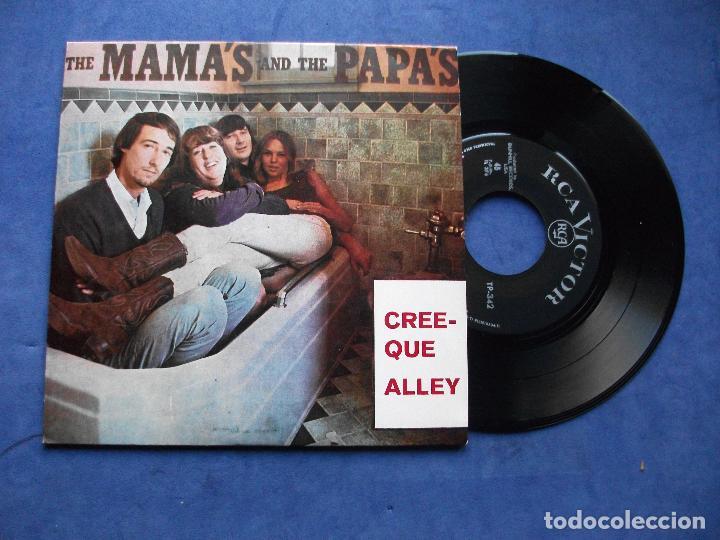 THE MAMA'S & THE PAPA'S CREEQUE ALLEY + 3 EP PORTUGAL PDELUXE (Música - Discos de Vinilo - EPs - Pop - Rock Extranjero de los 70)