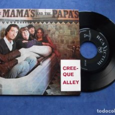 Discos de vinilo: THE MAMA'S & THE PAPA'S CREEQUE ALLEY + 3 EP PORTUGAL PDELUXE. Lote 69858833