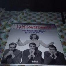 Discos de vinilo: CINE MÚSICA LOS GRANDES TEMAS DE LA COMEDIA. C7V. Lote 69868997