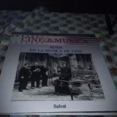 Discos de vinilo: CINE MUSICA RUSIA EN LA MÚSICA DE CINE. C7V. Lote 69869177