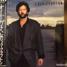 Discos de vinilo: ERIC CLAPTON AUGUST LP 1ST JAPAN OBI- BOWIE DYLAN. Lote 69873577