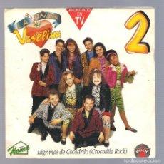 Discos de vinilo: LA ONDA VASELINA - LÁGRIMAS DE COCODRILO (SG 7'' PROMO 1992, HOME H031 S). Lote 69875853