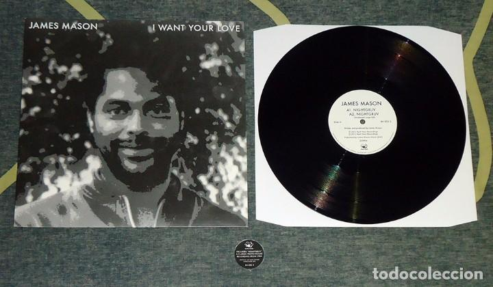 JAMES MASON - I WANT YOUR LOVE - 12'' EP [RUSH HOUR RECORDINGS, 2012] (Música - Discos de Vinilo - EPs - Funk, Soul y Black Music)
