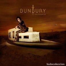Discos de vinilo: BUNBURY - PALOSANTO - DOBLE LP + 2 CDS - A ESTRENAR. Lote 69899973