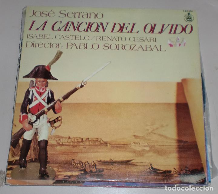 LP. JOSE SERRANO. LA CANCION DEL OLVIDO. HISPAVOX. 1978 (Música - Discos de Vinilo - Maxi Singles - Otros estilos)