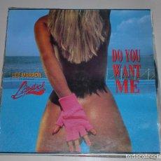 Discos de vinil: LP. LEE MARROW. FEATURING. LIPSTICK. DO YOU WANT ME. BASIC MIX.. Lote 69900657