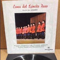 Discos de vinilo: COROS DEL EJERCITO RUSO. / BORIS ALEXANDROV. LP-GATEFOLD / DISCORAMA - 1965 / ***/***. Lote 69915105