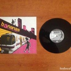 Discos de vinilo: BANANAS – LITIO A 6M BAJO EL SUELO (2002 GRAM ACCIONES 13). Lote 69927489