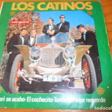 Discos de vinilo: LOS CATINOS - CAPRI SE ACABO/ EL COCHECITO/ TANTO/ EL MEJOR RECUERDO - EP 1965. Lote 69929489