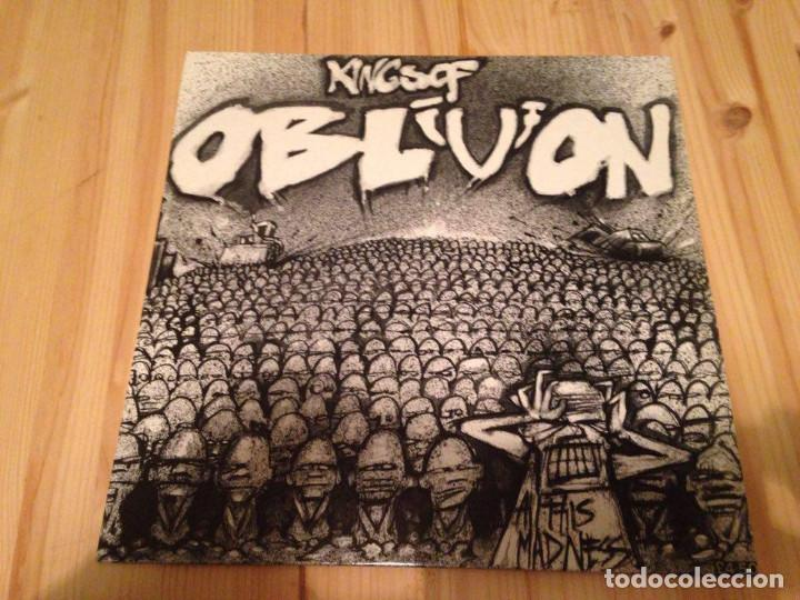 Kings Of Oblivion- All This Madness -LP-HARDCORE HERESY IN YOUR FACE RECORDS